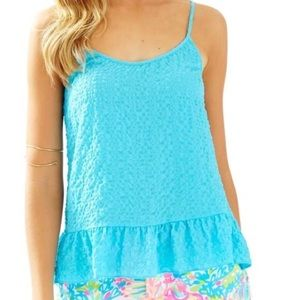 Lilly Pulitzer Coral Top